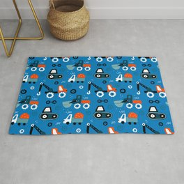 Toys cars patterns Rug