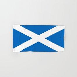 flag of scotland – scotland,scot,scottish,Glasgow,Edinburgh,Aberdeen,dundee,uk,cletic,celts,Gaelic Hand & Bath Towel