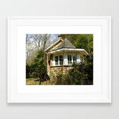 Secret House Framed Art Print