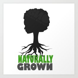 naturally grown Art Print