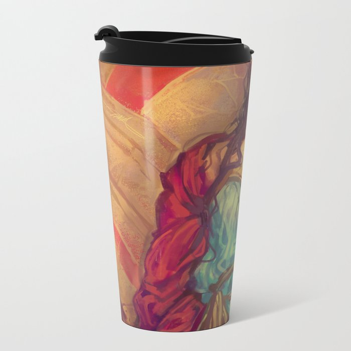 MEME 019 DIANA PRINCE Metal Travel Mug
