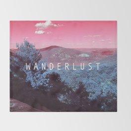 Wanderlust Throw Blanket