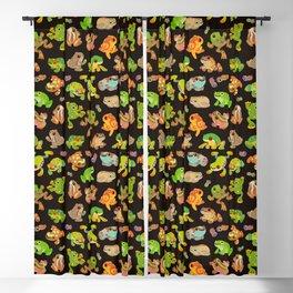 Tree frog - dark Blackout Curtain