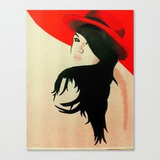 Red 1.0 Canvas Print