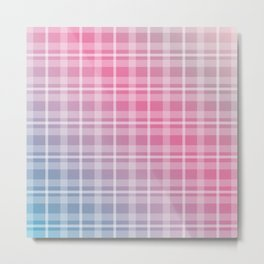 Playful colors and lines Metal Print
