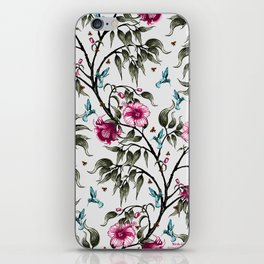 Birds in the Flowers iPhone Skin
