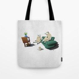 Sheep (Wordless) Tote Bag
