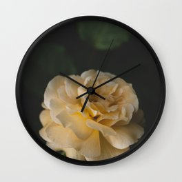 Roses (double exposure) Wall Clock
