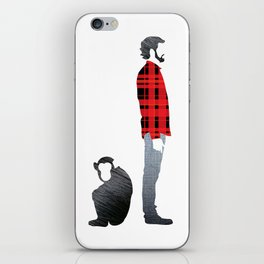 Distant relatives iPhone Skin
