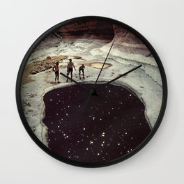 Down In The Sink Hole Wall Clock