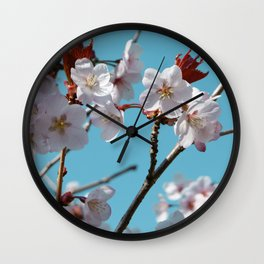 Blossom Floral Wall Clock