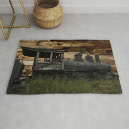 Quincy Train Surreal Rug