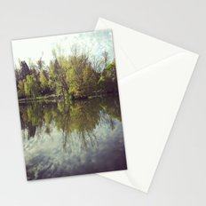Mirror Duck Pond  Stationery Cards