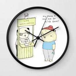 LAO Wall Clock