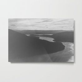 View from Mount Maxwell Metal Print