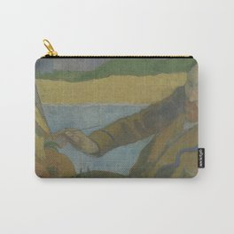 Vincent van Gogh Painting Sunflowers Carry-All Pouch