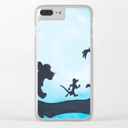 Hakuna Matata Clear iPhone Case