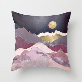 Raspberry Dream Throw Pillow