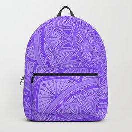 Periwinkle Mandala 3 Backpack