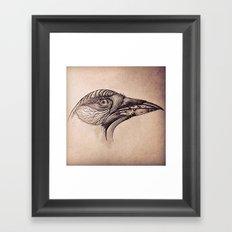 Steampunk BlackBird Framed Art Print