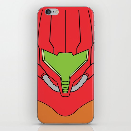 Minimalist Samus iPhone & iPod Skin