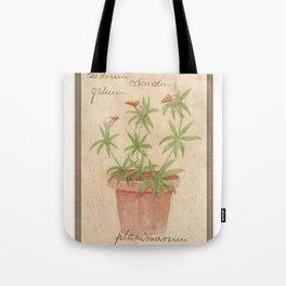 Planimarium - Anserini galium odoratum Tote Bag