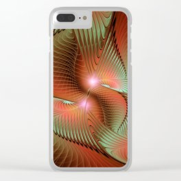 flamedreams -25- Clear iPhone Case