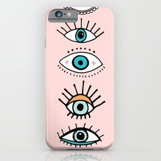 eye illustration print iPhone 6s Slim Case