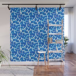Forget-me-not Flowers White Background #decor #society6 #buyart Wall Mural