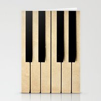 piano Stationery Cards featuring Piano by Sweet Moments Captured