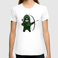 green arrow T-shirts featuring Green Arrow by Yiannis