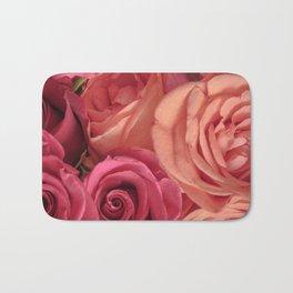 pink_rose Bath Mat