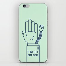 Trust No One iPhone & iPod Skin