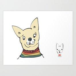 chico 2 Art Print