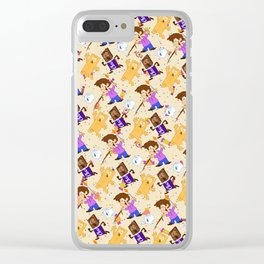 the smore's attacked Clear iPhone Case