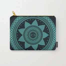 Eye of Protection Mandala Carry-All Pouch
