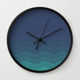 To The Lighthouse Wall Clock
