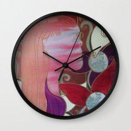 whirl my worries awat Wall Clock
