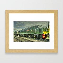 Peaky Dazzler Framed Art Print