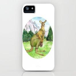 Austrian Kangaroo iPhone Case