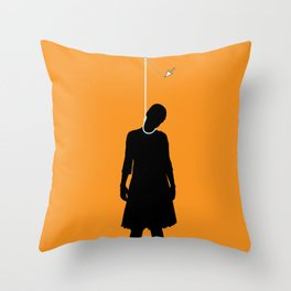 Death by Vector Throw Pillow