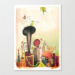 favellas en folies Canvas Print