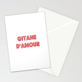 Gitane d'amour Stationery Cards