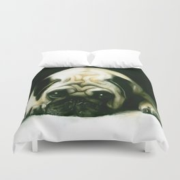 PUG POWER OUTAGE Duvet Cover