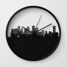 City Skylines: New Orleans (Alternative) Wall Clock