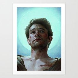 Murdock as a Martyr Art Print