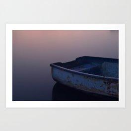 Evening Bay Art Print