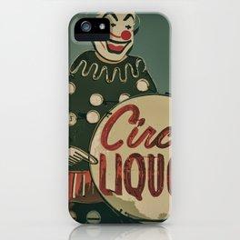Circus Liquors iPhone Case