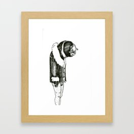 The Lonely Eel Framed Art Print