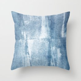 Primitive Composition (Abstract Allegory) II Throw Pillow